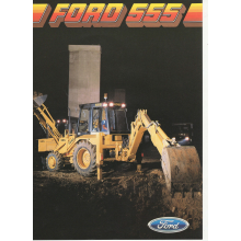 Ford 555 Digger A4 Picture, image
