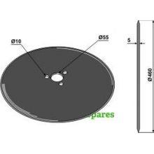 3 HOLE Disc for Kverneland plough, image