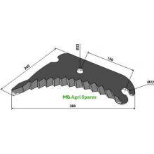 Vicon Round baler knife - Fits Models - GP2.3, image