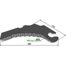 John Deere Round baler knife - Fits models - , image
