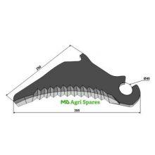 Claas Round Baler Knife - Fits Models - liste, image