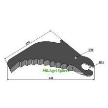 Case IH Round Baler Knive - Fits Models - lis, image