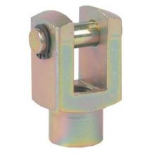 Rod Fork c/w Pin for 20mm 1280 1281 & 1282 Cyl, image