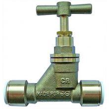 STOP VALVE - BRASS SIZE (MM) 15, image