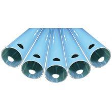 6M RIGID ALU PIPE TUBE O/D MM63 TUBE I/D MM 59- 1 PACK OF 4, image
