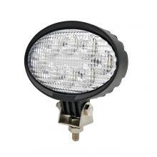 40 watt tractor LED oval work light Claas MF fastrac, image